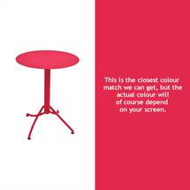 Ariane Round Table - 60cm - Pink Praline