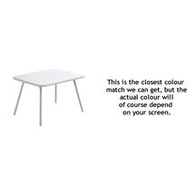 Luxembourg Kid Table - Cotton White