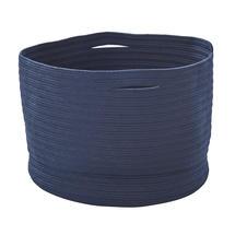 Soft Woven Storage Baskets - Large - Blue
