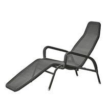 Sunrise sunchair, stackable - Graphite