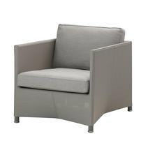 Diamond Lounge Chair - Light Grey