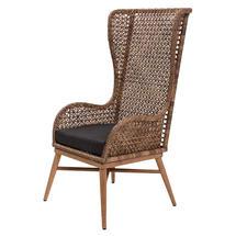 Madagascar High Back Chair in Arabica Weave/Teak