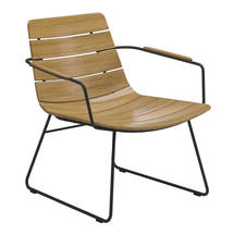 William Lounge Chair with Arms - Meteor