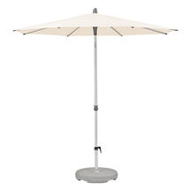 2m Round AluSmart  Parasol with Centre Pole - Deluxe