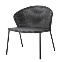 Lean Lounge Chair - Black