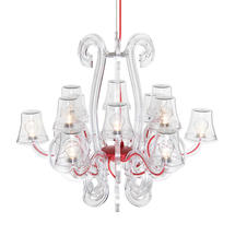 Rockcoco 12.0 LED Outdoor Chandelier - Clear