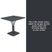 Luxembourg Square Table - Anthracite