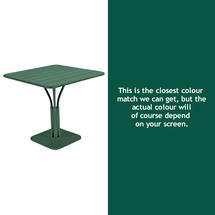Luxembourg Square Table - Cedar Green
