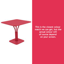 Luxembourg Square Table - Pink Praline