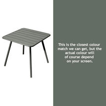Luxembourg Square Table with 4 legs - Rosemary