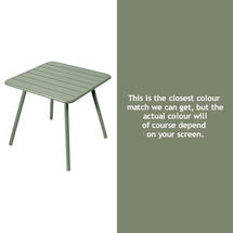 Luxembourg Square Table with 4 legs - Cactus