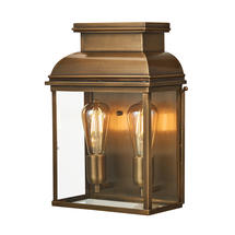 Old Bailey Large Wall Lantern - Aged Brass