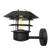 Helsingor Wall Lantern - Black