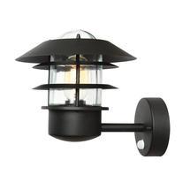Helsingor PIR Wall Lantern - Black