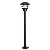 Helsingor Bollard Lantern - Black