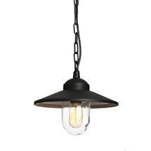 Klampenborg Hanging Chain Lantern - Black