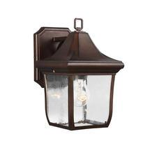 Oakmont Small Wall Lantern - Patina Bronze