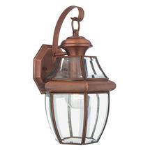 Newbury  Medium Wall Lantern - Aged Copper
