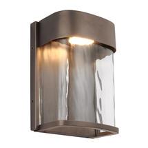 Bennie Small LED Wall Light - Antique Bronze