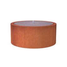 Round Water Pool 120 x 40cm - Corten Steel