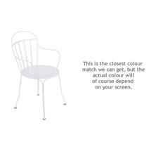 Louvre Stacking Armchair - Cotton White