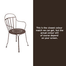 Louvre Stacking Armchair - Russet