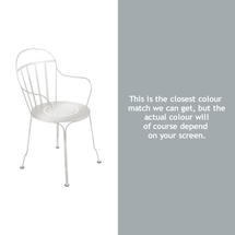 Louvre Stacking Armchair - Steel Grey