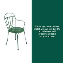 Louvre Stacking Armchair - Cedar Green