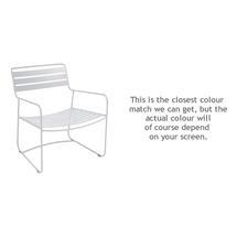 Surprising Low Armchair - Cotton White