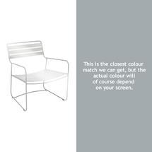 Surprising Low Armchair - Steel Grey