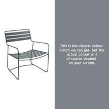 Surprising Low Armchair - Storm Grey