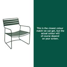 Surprising Low Armchair - Cedar Green