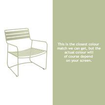 Surprising Low Armchair - Willow Green