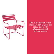 Surprising Low Armchair - Pink Praline