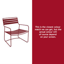 Surprising Low Armchair - Chilli