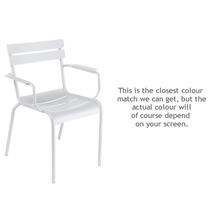 Luxembourg Stacking Armchair - Cotton White