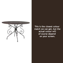 1900 Table 117cm - Russet
