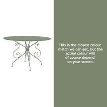 1900 Table 117cm - Cactus