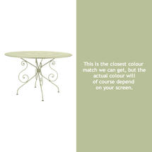 1900 Table 117cm - Willow Green