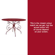 1900 Table 117cm - Chilli