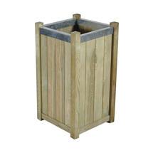 Slender Wooden Planter - Small
