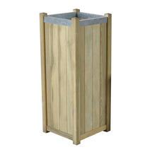 Slender Wooden Planter - Large