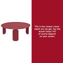 Bebop 80cm Low Table - Chilli