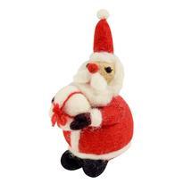 Santa Has a Present Tree Topper