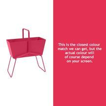Tall Basket Planter - Pink Praline