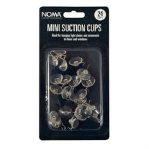 Mini Suction Cup Hooks 24 Pack