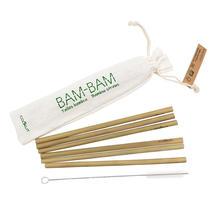 Bam Bam Reusable Bamboo Straws - set of 6