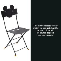 Mickey Mouse Bistro Chair - Liquorice