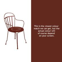 Louvre Stacking Armchair - Red Ochre