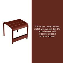 Luxembourg Low Table Small - Red Ochre